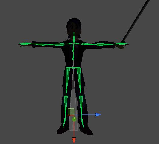 Modelo importado en Unity3d