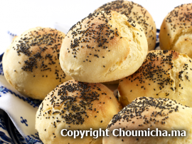 Moroccan Recipes: Bread with poppy seeds recipe