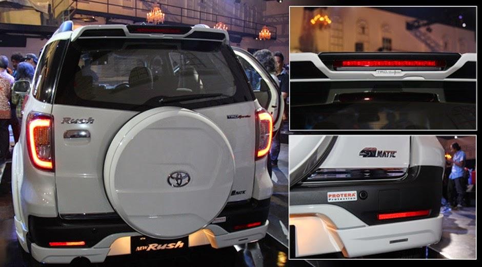 Tampilan Toyota New Rush Semakin Sporty dan Dinamis