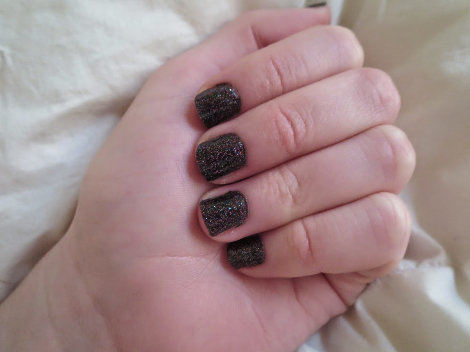 a picture of Butter London The Black Knight (swatch)