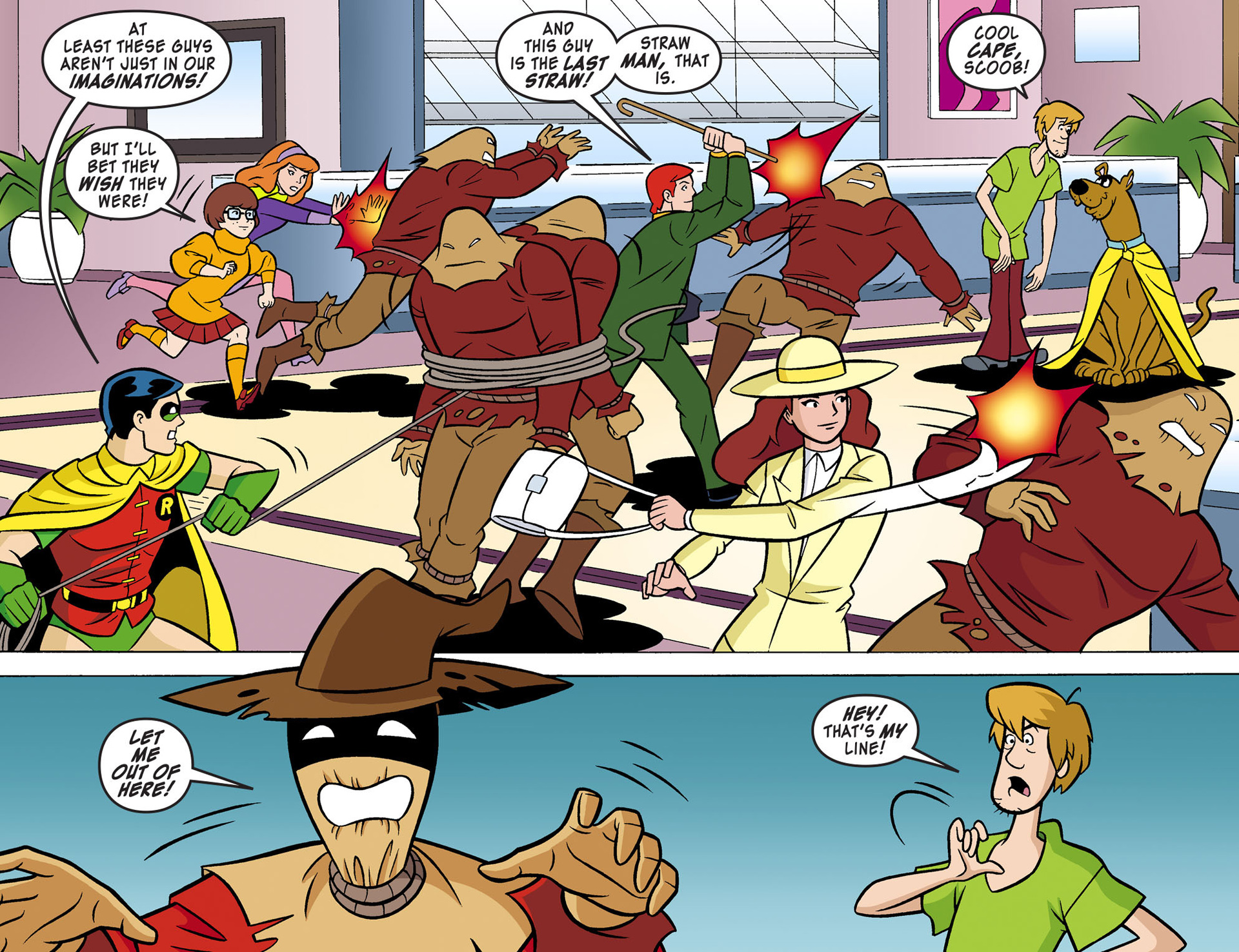 Read online Scooby-Doo! Team-Up comic -  Issue #4 - 18