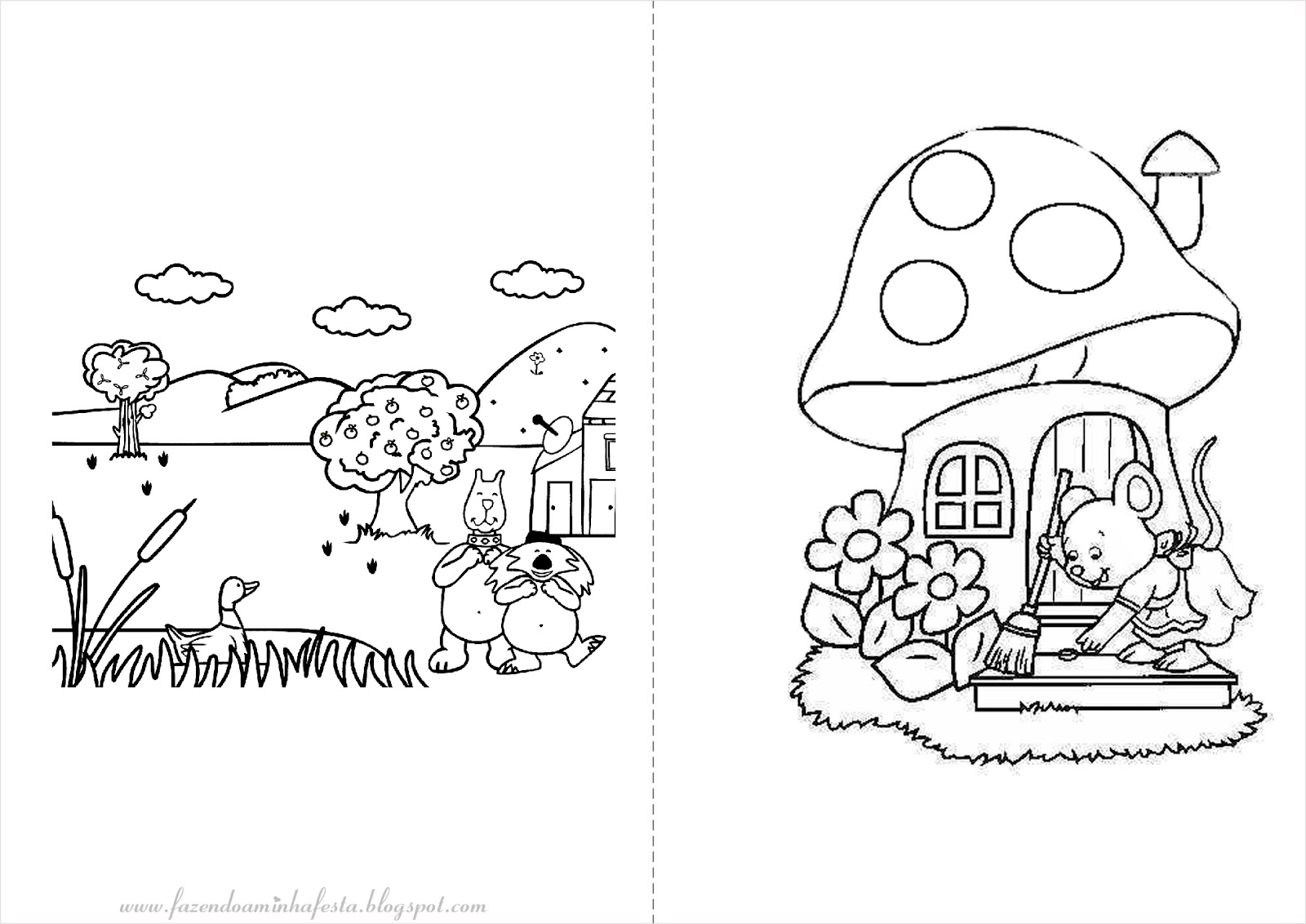 imagens para pontilhismo para colorir de jardins