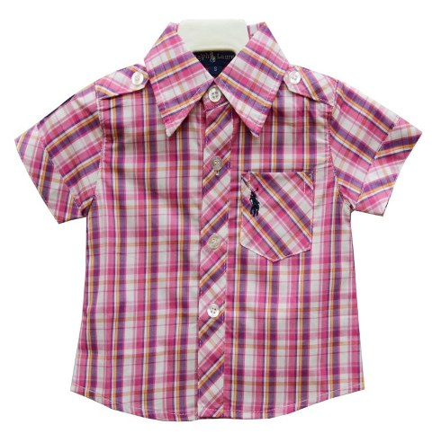 Baby 39 n 39 kids garage for Baby pink polo shirt