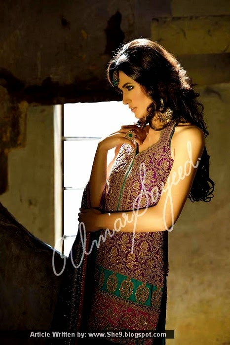Umar Sayeed's  Ghagra Chooli Designs