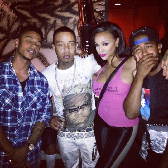 Young Berg and Masika are back together