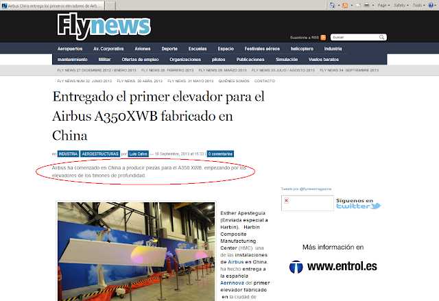 Noticia en Fly-News