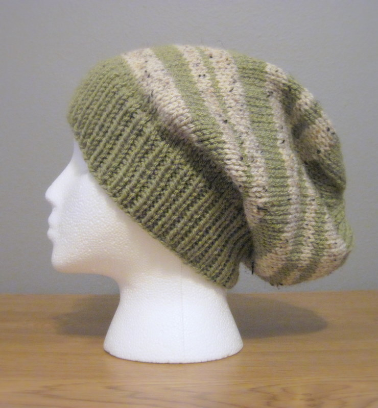 b726c8d8b88 Bella s Slouchy Striped Hat from Eclipse - In the Hammock Vintage Style