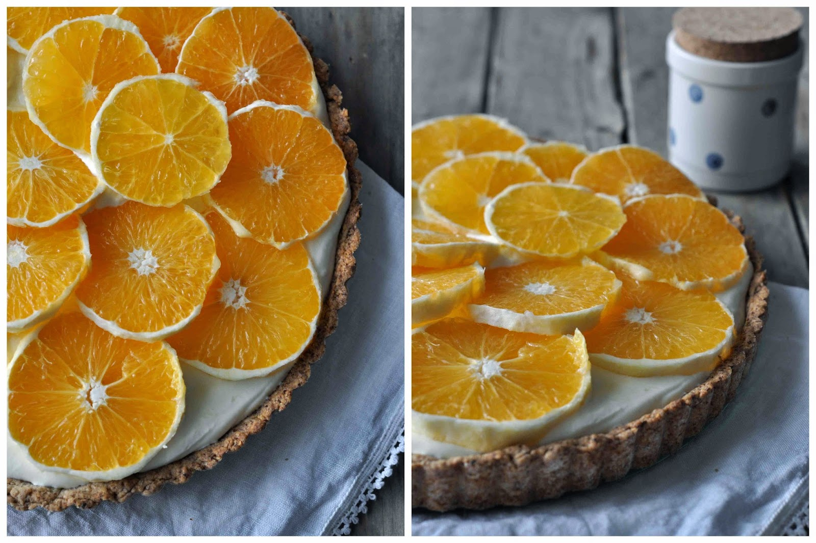 Orange Yogurt Tarte