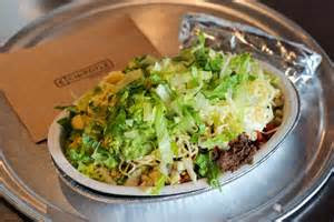 Steak Burrito Bowl from Chipotle