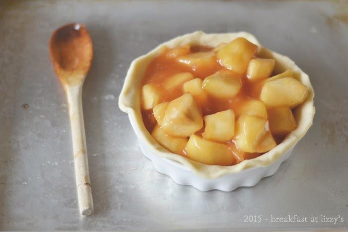pie di riso e mele