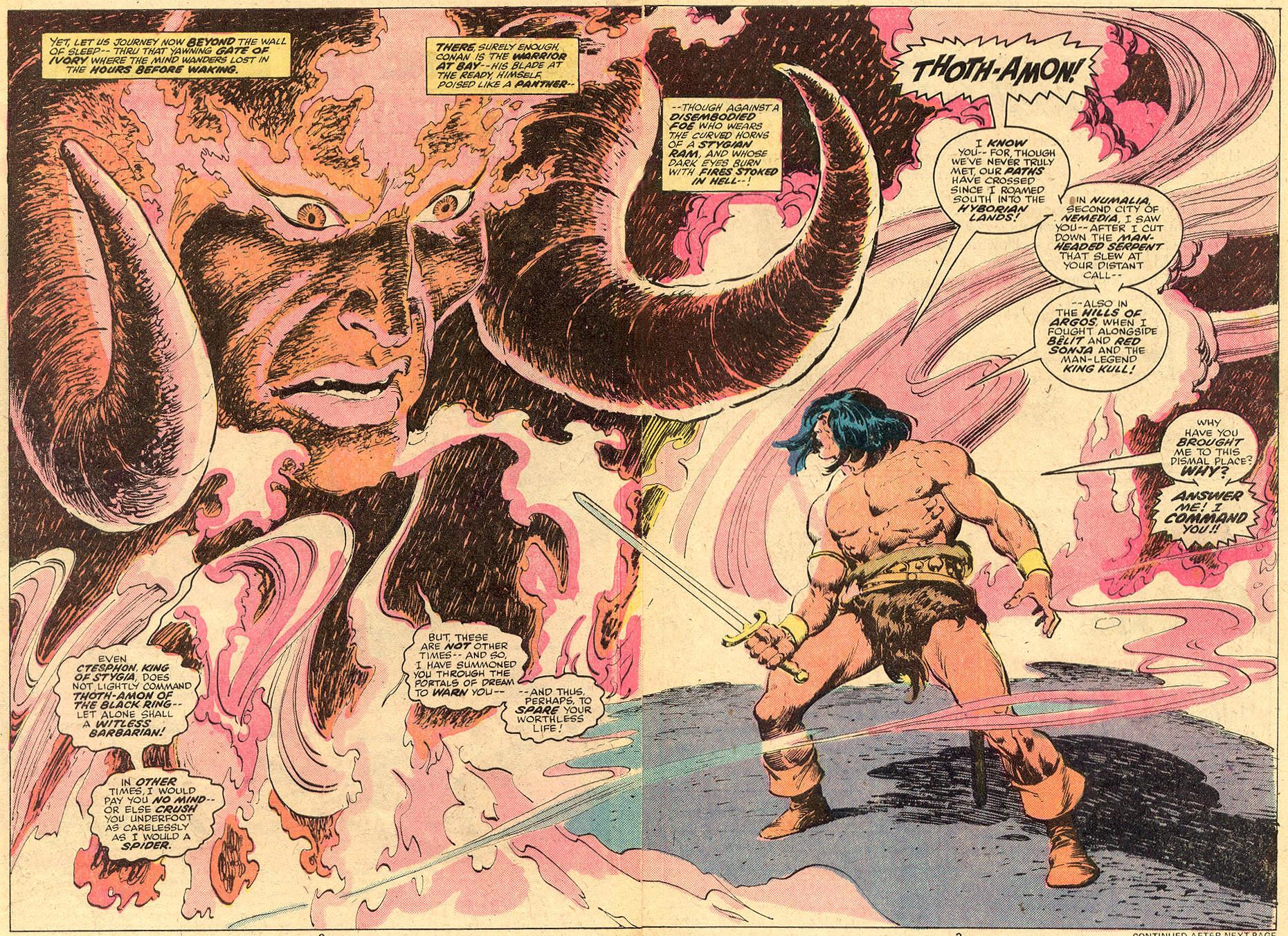 Conan the Barbarian (1970) Issue #74 #86 - English 3