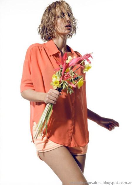 Clara Ibarguren primavera verano 2013. Blusas moda 2013.