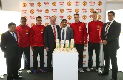 Manchester United Seals a Sponsorship Deal With Nigerian Juice Brand
