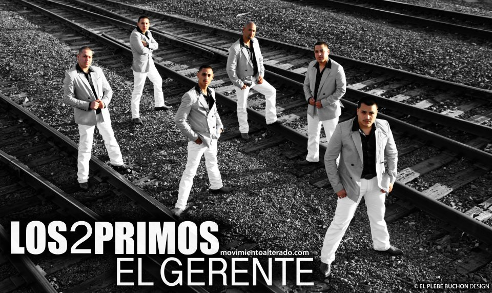 Corridos Y Banda Los 2 Primos El Roke Estudio 2012
