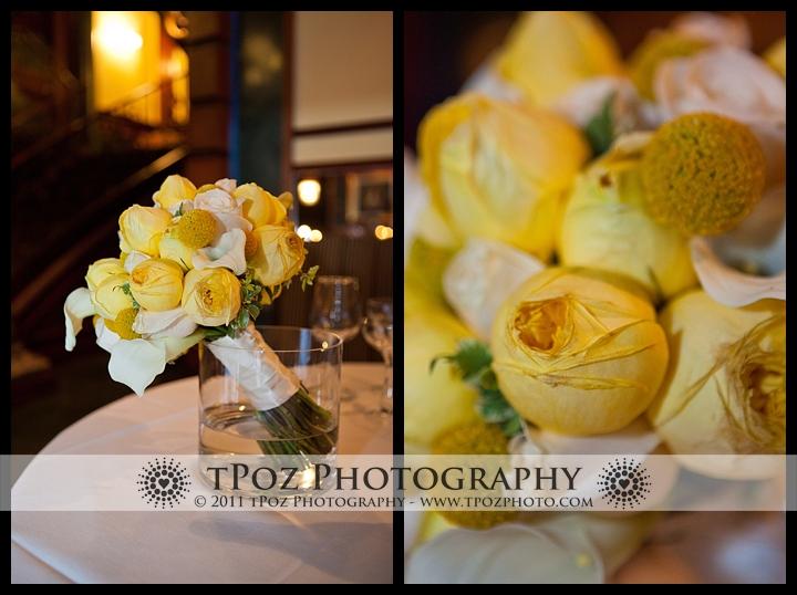 My Flower Box Events Yellow Wedding Bouquet