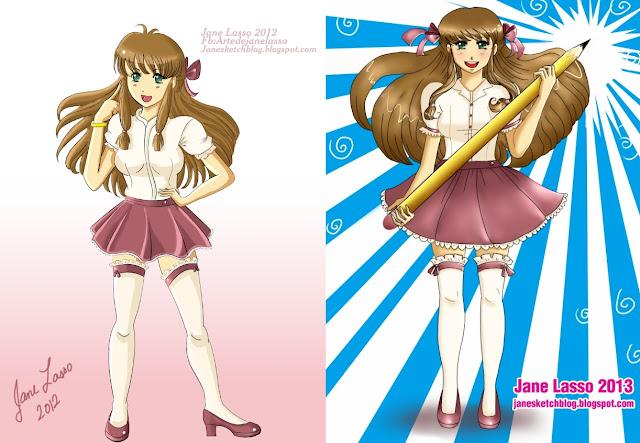 Comparación de dibujos año 2012 versus año 2013