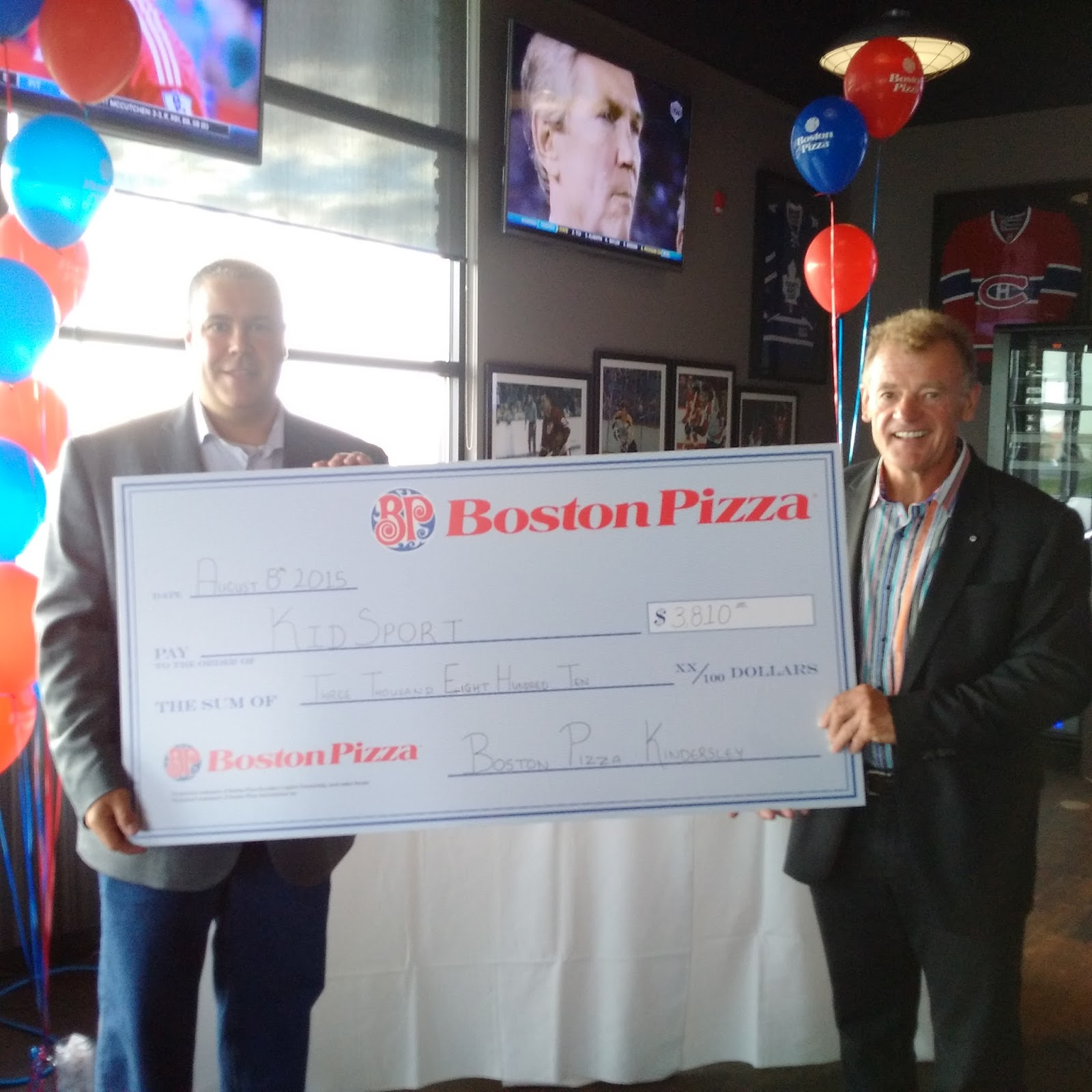 john enns wind boston pizza grand opening