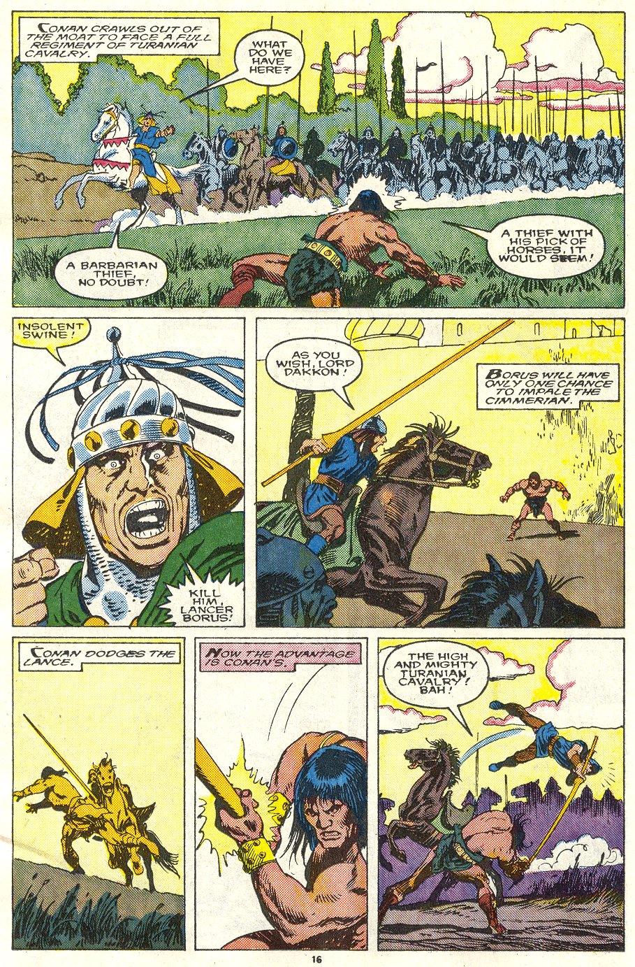 Conan the Barbarian (1970) Issue #219 #231 - English 13