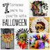 7 Coronas para tu puerta este Halloween