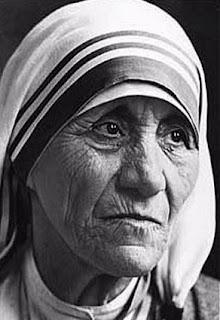 El mar seria menos si le faltara esa gota, Madre Teresa de Calcuta