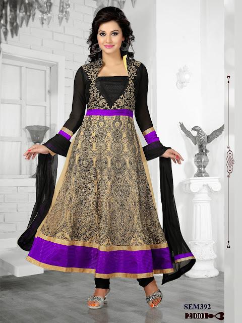 New Long Anarkali Suit – Wholesale Supplier