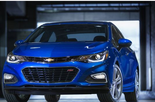 Chevrolet Revealed The All-New 2016 Chevy Cruze
