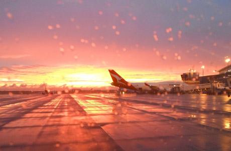 Aeropuerto de Dallas, avión