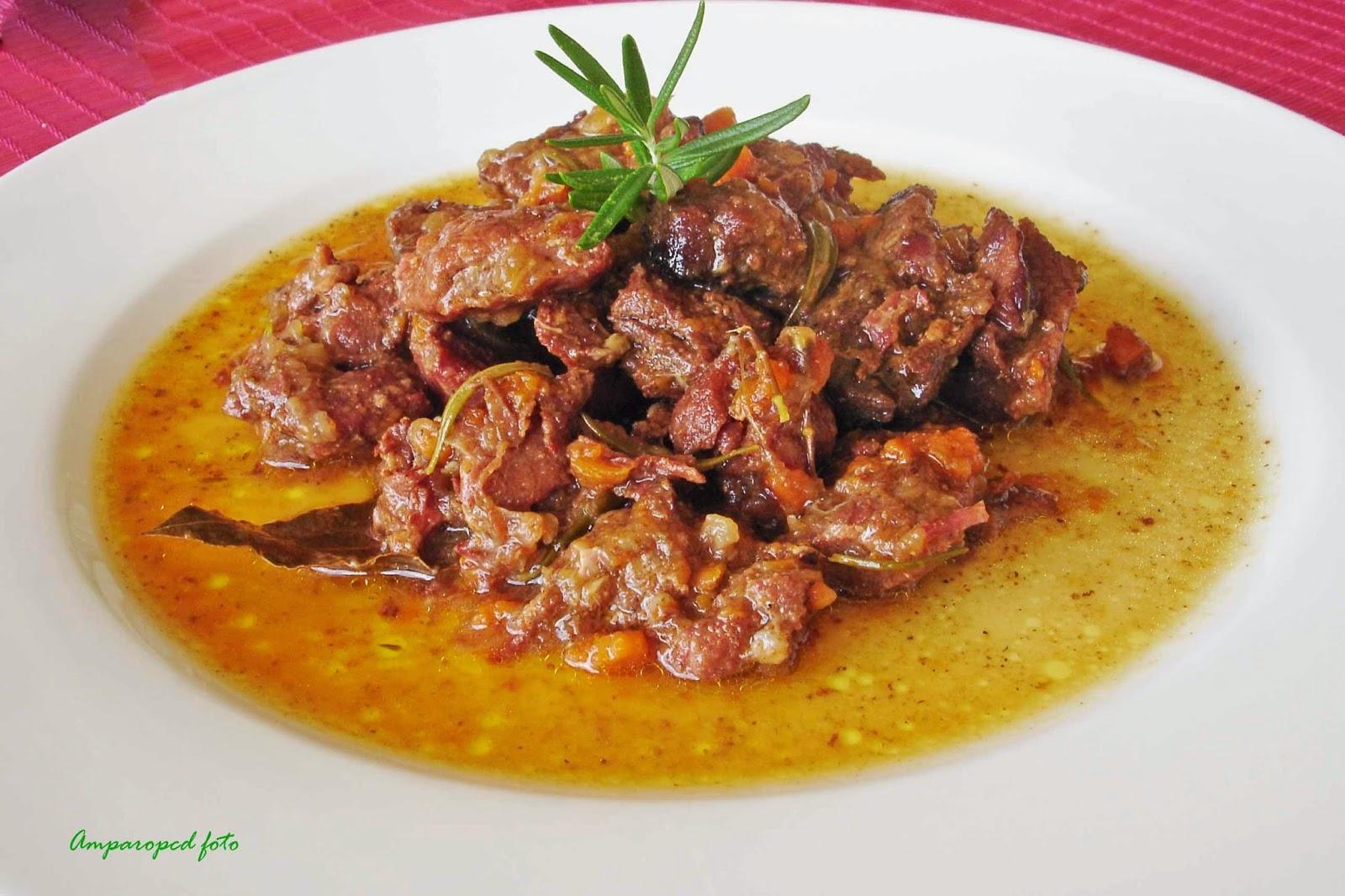 Cocinar Carne De Jabali | Cocinando En Casa Jabali Guisado