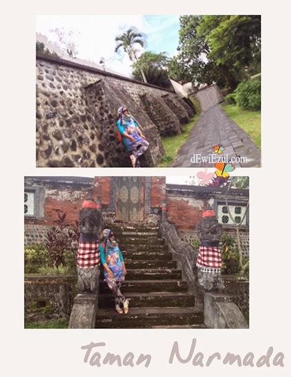 dewizul,dewiyull,jalan jalan ke Taman nermada lombok