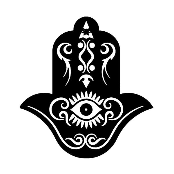 The hermetical blog of salazius d 39 artign la main de fatma - Coloriage main de fatma ...
