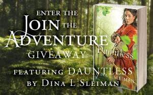 Enter the Join the Adventure Giveaway!