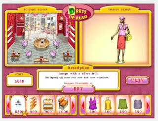 Online fashion game