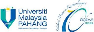 Jawatan Kosong Di Universiti Malaysia Pahang (UMP) - 18 Januari 2013