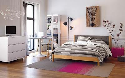 Dormitorios frescos y acogedores