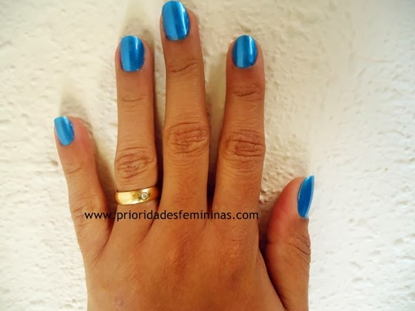 nail art azul, unhas pintadas azul