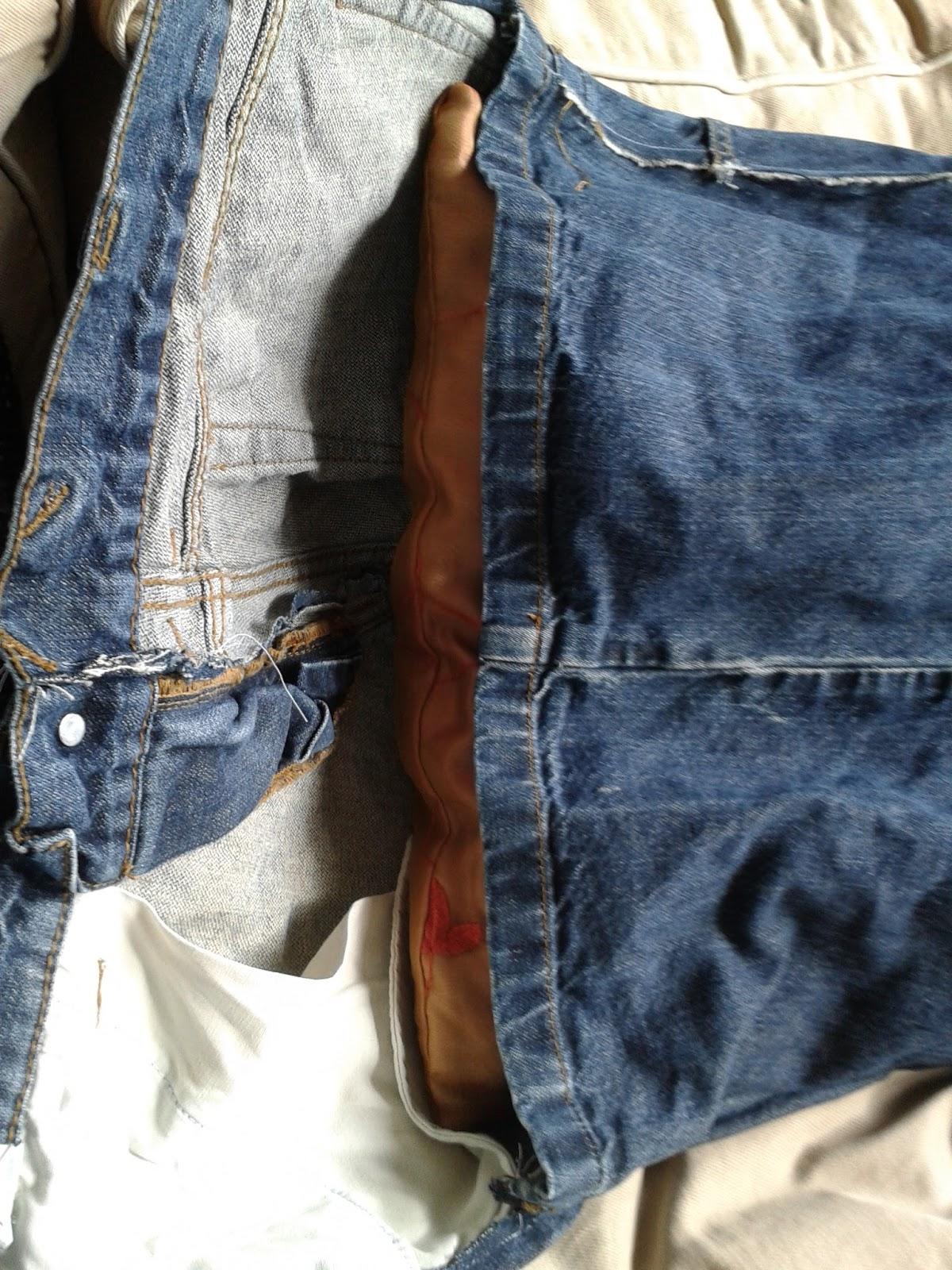 Handcraft deco jeans kussensloop - Deco slaapkamer volwassene ...