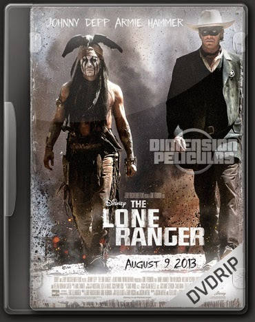 The Lone Ranger (DVDRip Ingles Subtitulada) (2013)