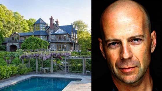 Rumah Mewah Milik Pelakon Bruce Willis