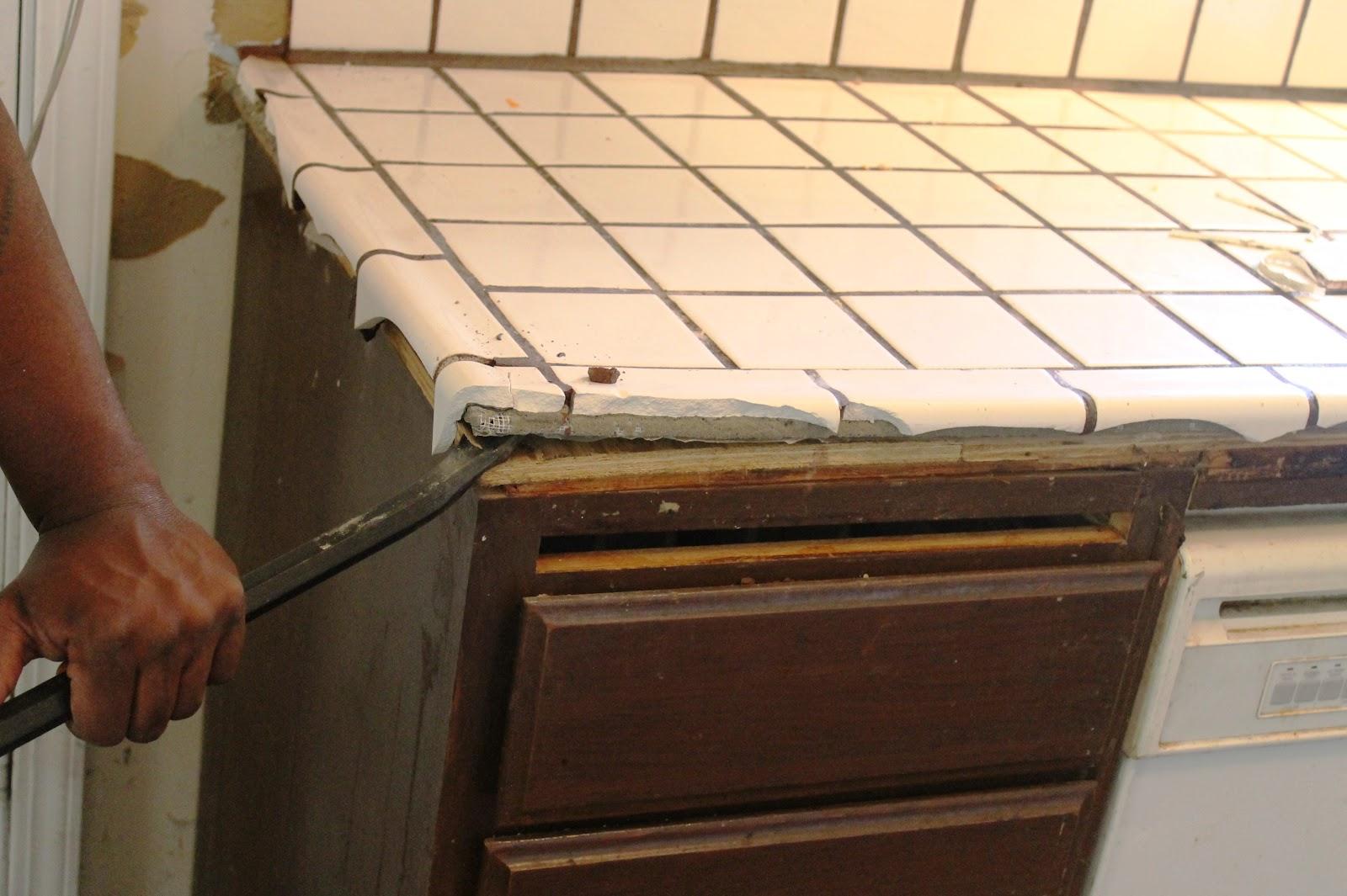 removing a countertop - newcountertop