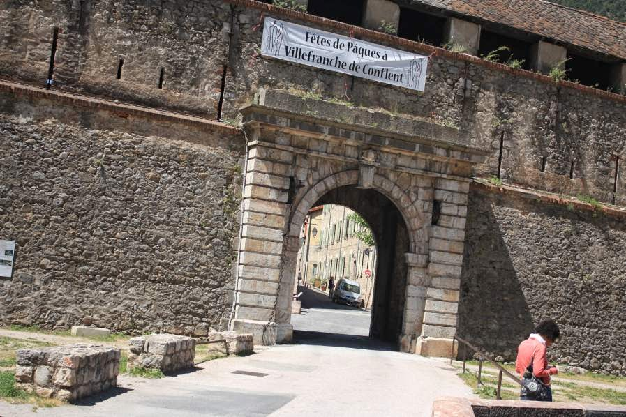 French Gate of Villefranche de Conflent