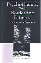 Dr. Allen&#39;s book on borderline personality disorder for therapists