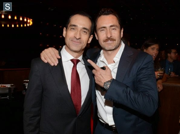 The Bridge - Demian Bichir Talks about Sharing Scenes with his Brother