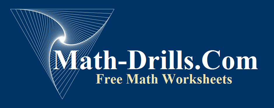 Math Dril Sheets