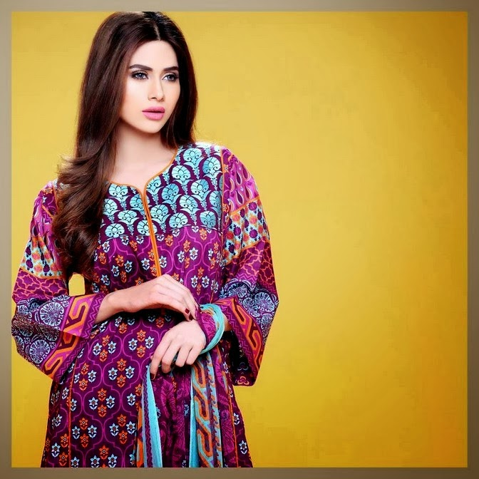 Colorful Printed Lawn Dresses
