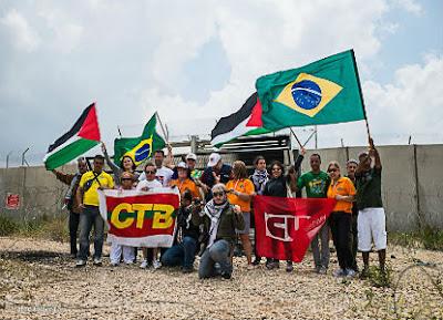 Delegação brasileira de Solidariedade ao Povo Palestino