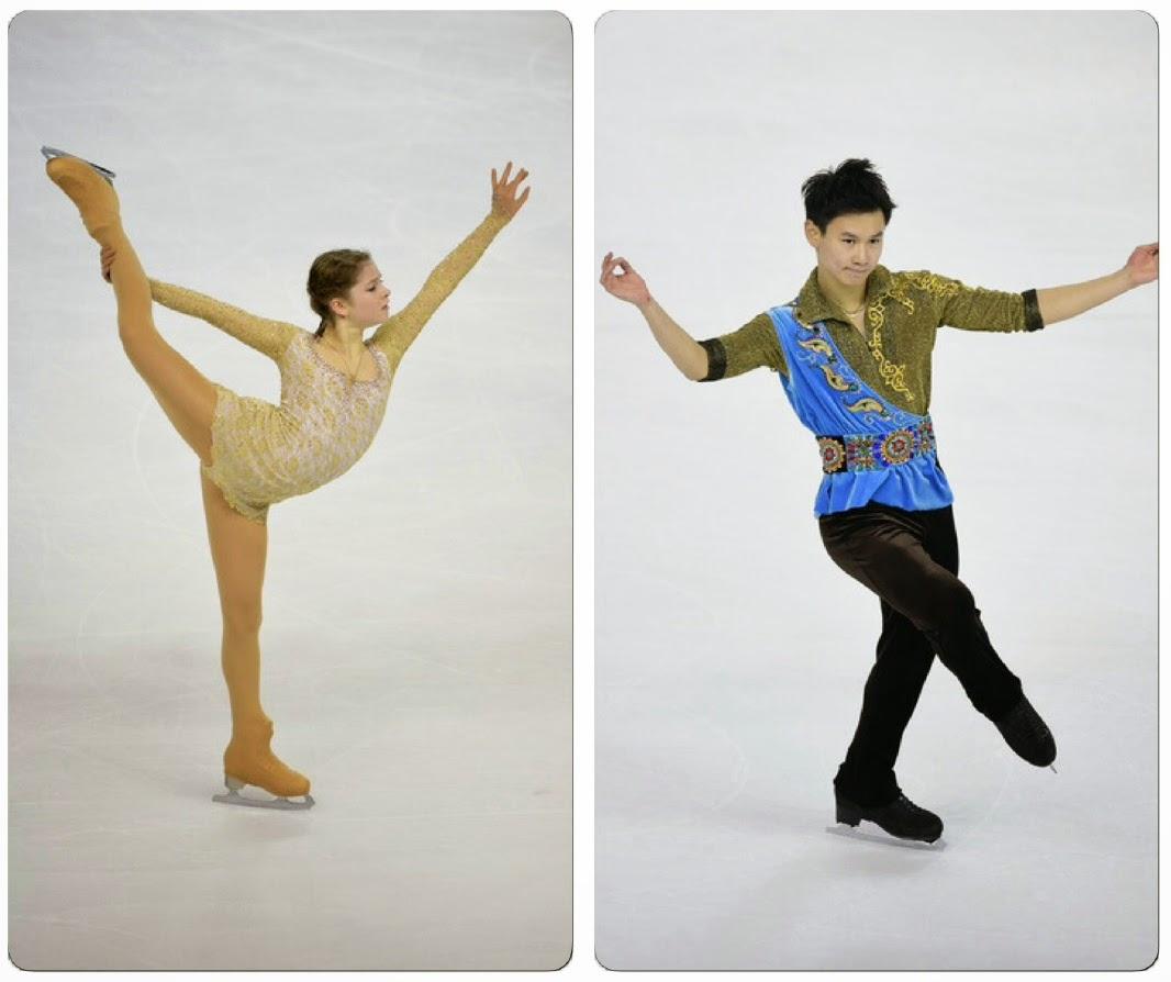 Figure skating costume oops