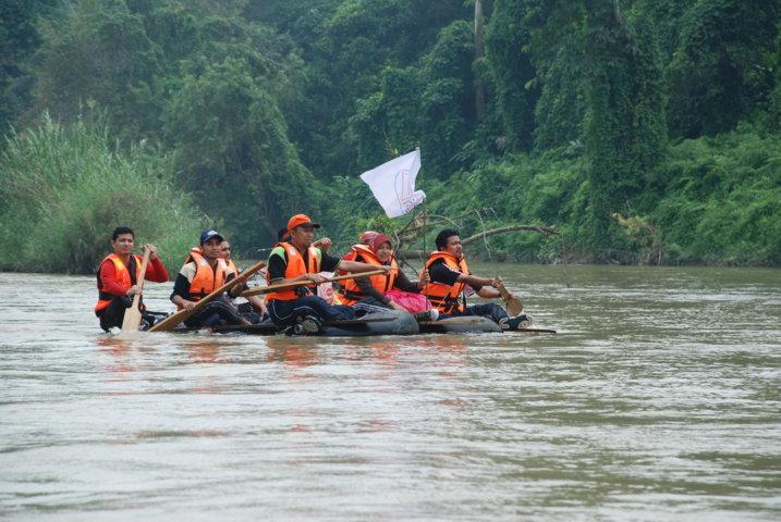 berpasukan ini telah diadakan di Kuala Medang, Kuala Lipis, Pahang