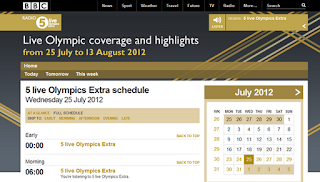 listen live commentary of Summer Olympic 2012 Games
