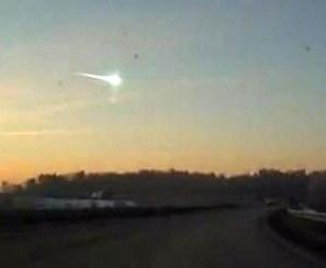 meteorito cae en Rusia
