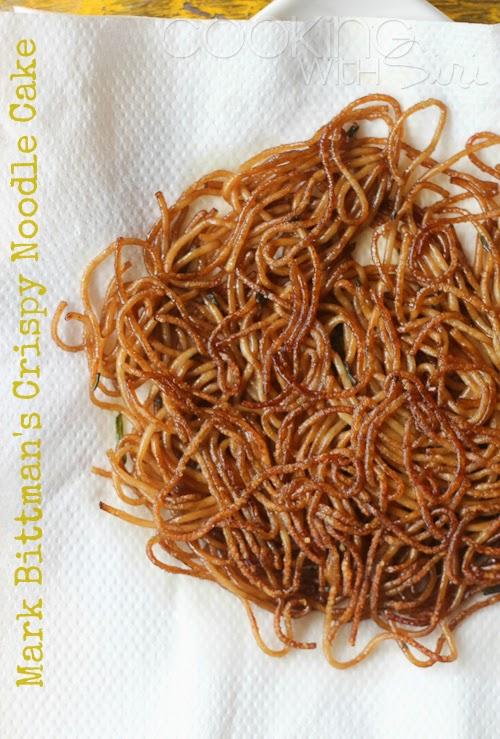 Mark Bittman Crispy Noodle Cake